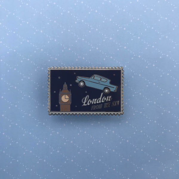 HP London from the Sky Stamp Pin || Magical Stories Stamps Pin