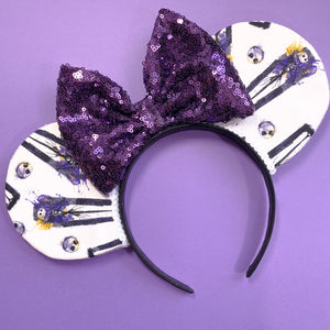 Purple Jack Skellington // Nightmare Before Christmas Mouse Ears
