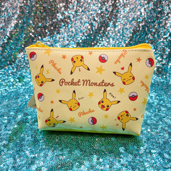 Pikachu Pokémon || Pocket Monsters Triangle Bag