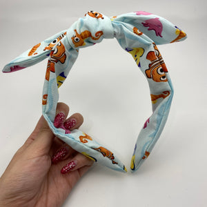 Nemo and Friends Bow Knot Headband