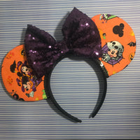 Mickey and Minnie BOO Mouse Ears