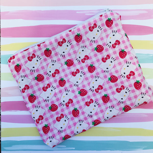 Hello Kitty Small Makeup Bag