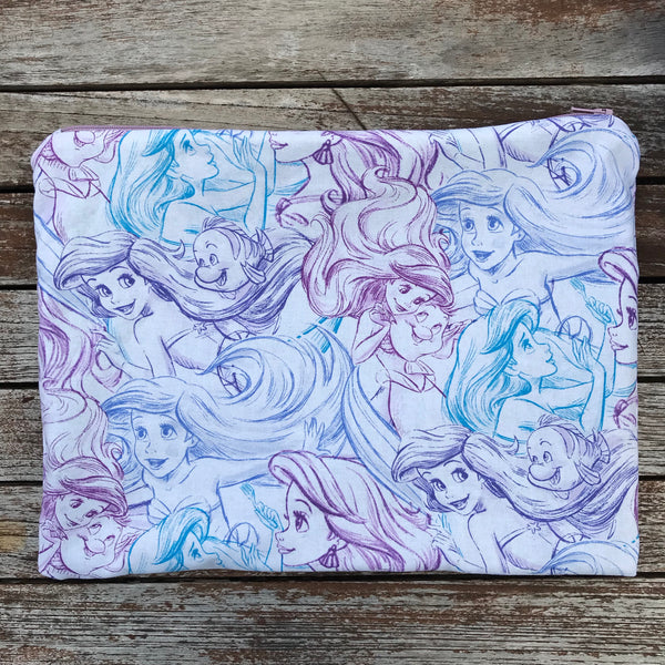 Ariel Sketch Large Makeup Bag