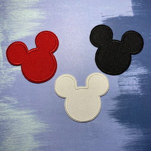 Original Mouse Head Patch Set of 3