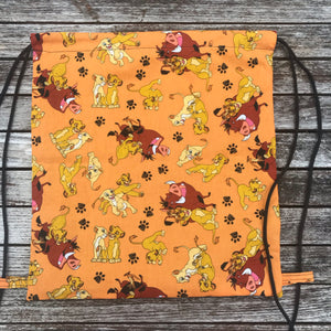 Lion King Drawstring Bag