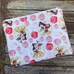 Belle Rose Large Makeup Bag