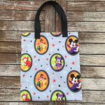 Mickey and Friends Badges Trick or Treat Bag