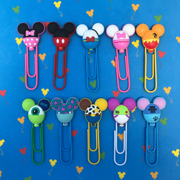 Balloon Character Planner Clip