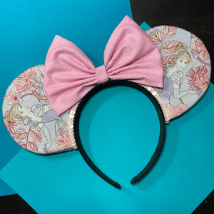 Cinderella || Princess Floral || Flower and Garden Mouse Ears