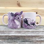 PREORDER Bambi and Flower Couples Mugs
