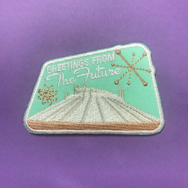 Greetings from the Future Space Mountain Patch