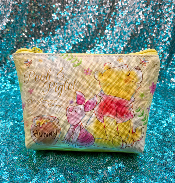 PREORDER Pooh and Piglet Watercolor Triangle Bag