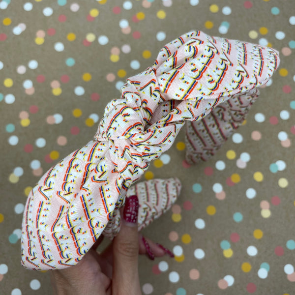 Pink Mickey Bow Knot Headband