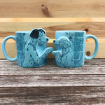Pongo and Perdita 101 Dalmatian Couples Mugs
