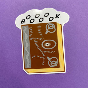 Hocus Pocus Book Sticker