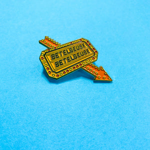 Betelgeuse Neon Sign || Beetlejuice Pin