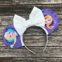 Anna and Elsa Mouse Ears