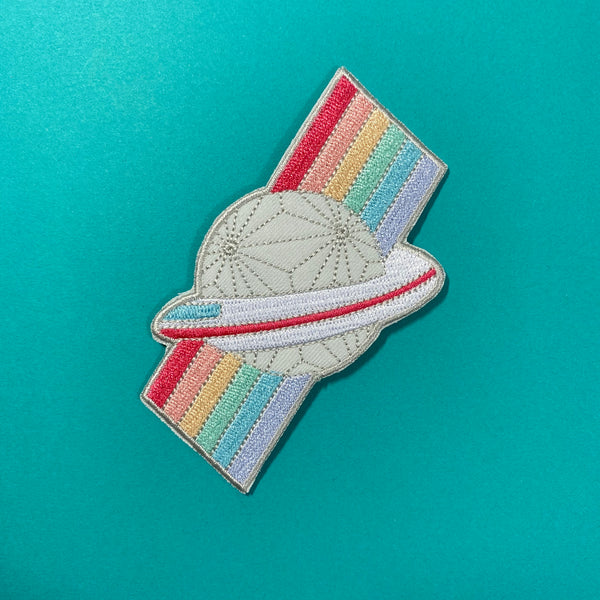 Rainbow Spaceship Earth Patch
