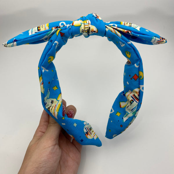 Retro R2D2 Bow Knot Headband