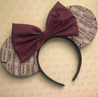 Food and Wine Cork Mouse Ears