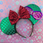 Ariel Seashell Mouse Ears