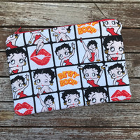 Betty Boop Small Makeup Bag