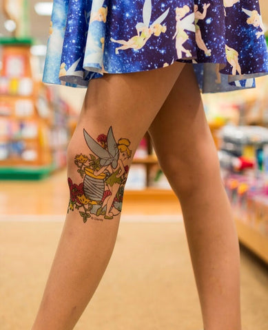 Tinkerbell Tattoo Tights