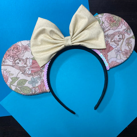 Sleeping Beauty || Aurora || Princess Floral || Flower and Garden Mouse Ears