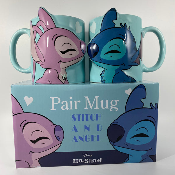 Stitch and Angel Couples Mugs