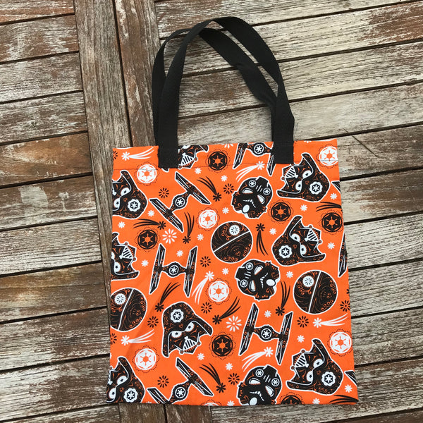 Star Wars Darth Vader Storm Trooper Trick or Treat Bag