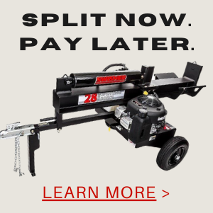 Finance Your Log Splitter Purchase