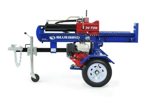 BlueBird 34 Ton Log Splitter (LS34H) at Log Splitter HQ