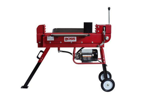 10 Ton Boss Industrial Dual Action Electric Log Splitter (ED10T20) at Wood Splitter Direct