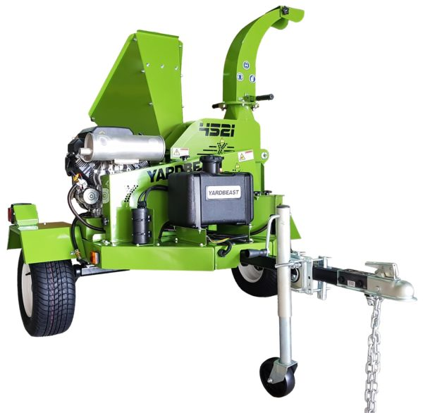 "YARDBEAST 4521 - 4.5"" Wood Chipper Shredder at Wood Splitter Direct"