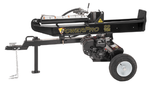 PowerPro 22-Ton Kohler Horizontal / Vertical Log Splitter (LS597671) at Log Splitter HQ