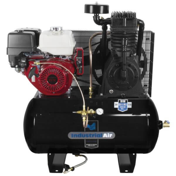 Industrial Air Contractor 13 hp Two-Stage Truck Mount Air Compressor 30 gallon (IH1393075.SAN) at Log Splitter HQ