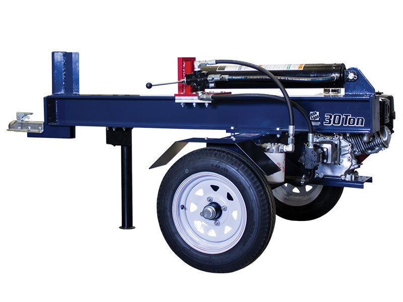 Iron and Oak 30 Ton Horizontal Log Splitter (BHH3013GX) at Wood Splitter Direct
