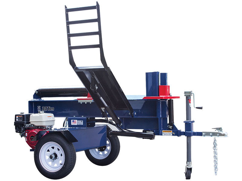 Iron and Oak 30 Ton Log Splitter With Log Lift (BHH4013GX30) at Wood Splitter Direct