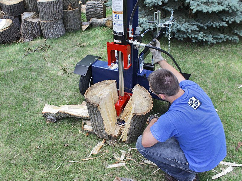 Iron and Oak 26 Ton Vertical Horizontal Log Splitter Torsion Axle (BHVH2616GXT) at Wood Splitter Direct