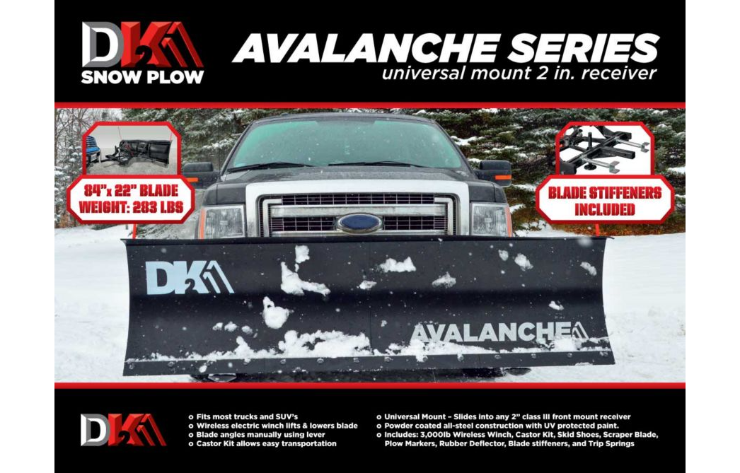 Detail K2 AVAL8219 Snow Plow - Image 2