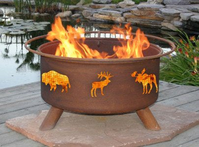 Patina Classic Fire Pits at Wood Splitter Direct