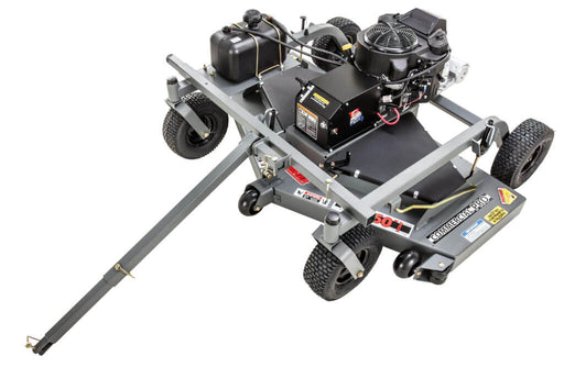 Swisher 60 Inch Fast Finish Cut Pull Behind Mower Electric Start (FC14560CPKA) at Wood Splitter Direct