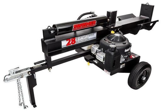 Swisher 28-Ton 10.5HP Horizontal / Vertical Log Splitter (LSRB10528) at Log Splitter HQ