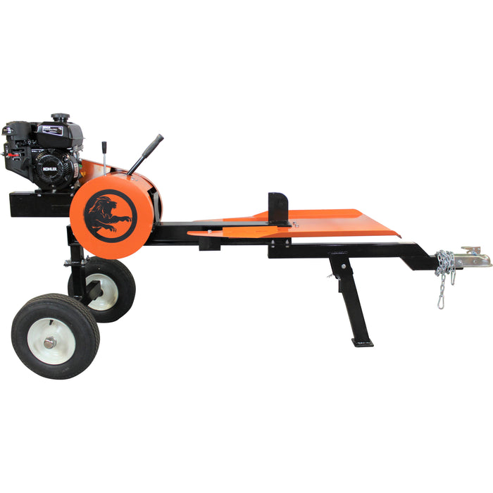 PowerKing 22-Ton 4.5 HP Kohler Horizontal Kinetic ABS Log Splitter (PK0322K) - Image 2