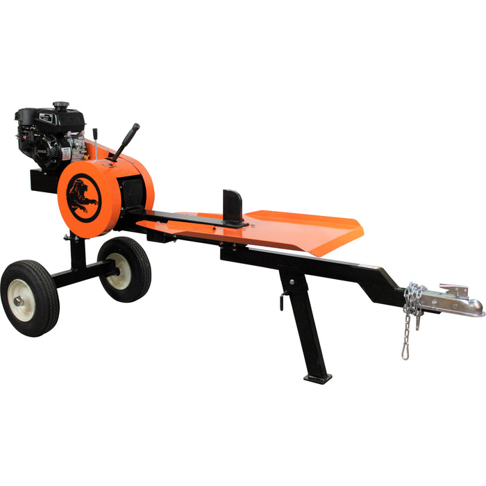 PowerKing 22-Ton 4.5 HP Kohler Horizontal Kinetic ABS Log Splitter (PK0322K) - Image 1