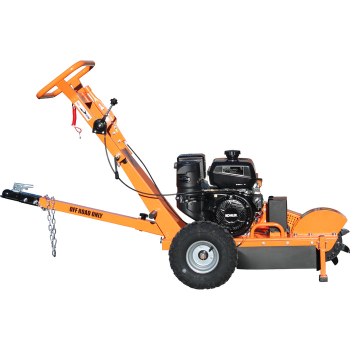 PowerKing Stump Grinder 14HP Electric Start Bundle (PK0803-EH)