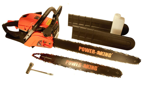 "PowerKing Gas Chainsaw 16"" & 20"" Combination 45cc (PK451620) - Image 1"