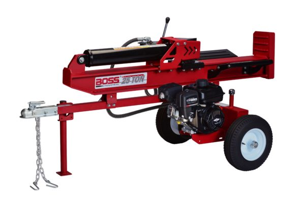 Boss Industrial 25 Ton Horizontal Vertical Gas Wood Splitter (WD25T) at Log Splitter HQ