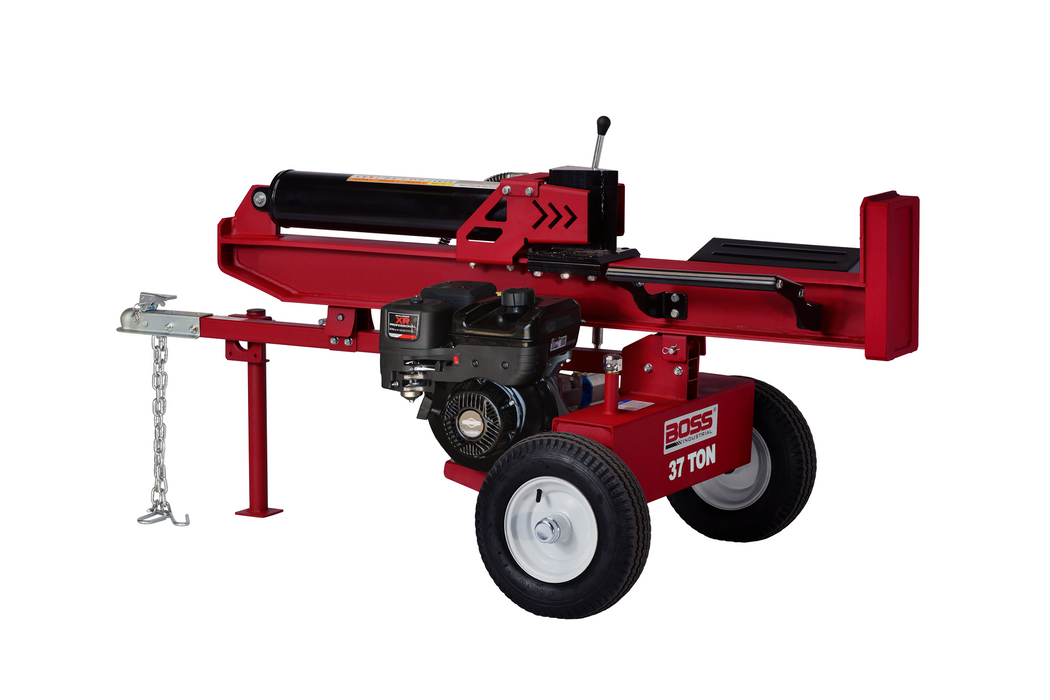 Boss Industrial 37-Ton Horizontal/Vertical Gas Log Splitter (WD37T)