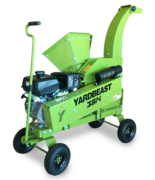 "YARDBEAST 3514 - 3.5"" Pro Wood Chipper at Log Splitter HQ"